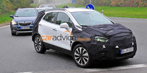 2016 Opel Mokka facelift spied: Could Opel's little SUV replace Trax in Australia?