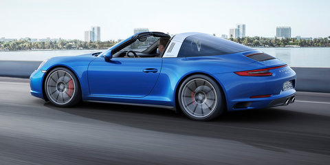 2016 Porsche 911 Carrera 4, Targa 4 pricing and specifications