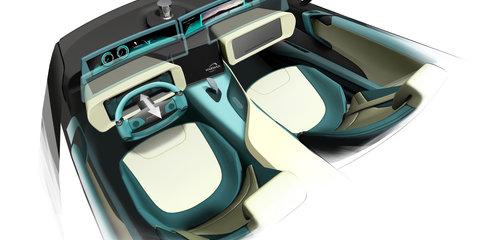 Rinspeed Ʃtos autonomous sports car concept bound for CES