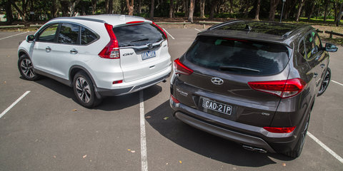2015 Hyundai Tucson v Honda CR-V : Diesel Comparison Review