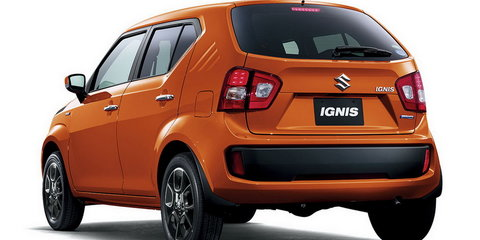 2017 Suzuki Ignis confirmed for Australia, launching first quarter next year