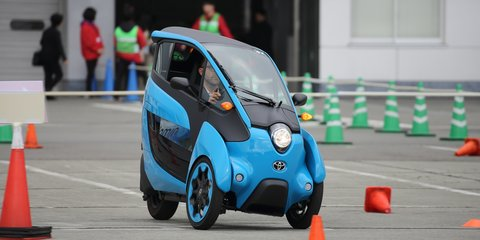 Toyota i-Road poised for production