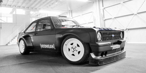 Ken Block reveals new RWD Ford Escort Gymkhana vehicle
