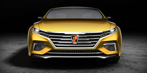 Roewe Vision-R electric concept hints at Chinese brand's new look