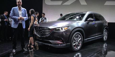 2016 Mazda CX-9 Walkaround : 2015 LA Auto Show