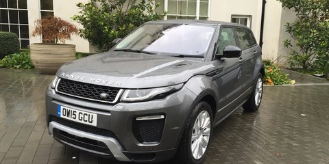 2016 Range Rover Evoque Review : First Drive