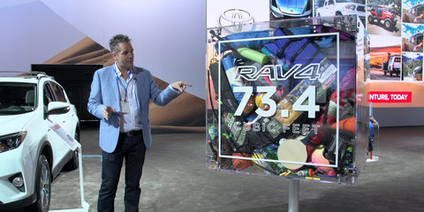 2016 Toyota RAV4 Space Demonstration : 2015 LA Auto Show
