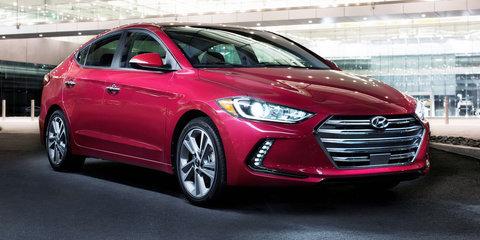 2016 Hyundai Elantra makes LA debut: Australian launch set for early next year