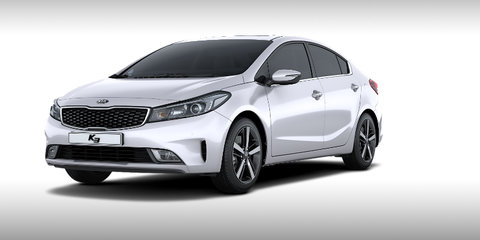 2016 Kia Cerato facelift revealed in Korean 'K3' form