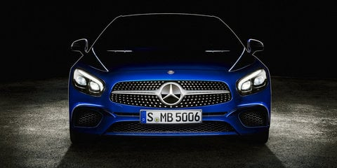 2016 Mercedes-Benz SL roadster teased ahead of LA debut