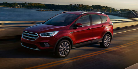 2017 Ford Kuga revealed as facelifted Escape: New looks, new Sync 3 Connect