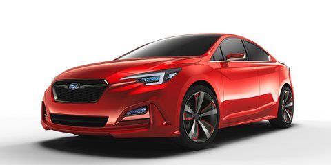 Subaru Impreza sedan concept unveiled at Los Angeles auto show