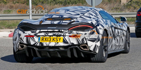 McLaren Sports Series expansion - 570S 2+2 spotted?