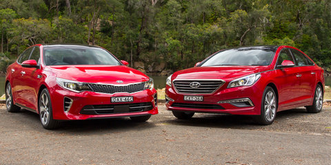 Kia Optima GT v Hyundai Sonata Premium : Comparison Review