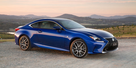 2016 Lexus RC Coupe pricing and specifications: Entry-level turbo model added, prices adjusted