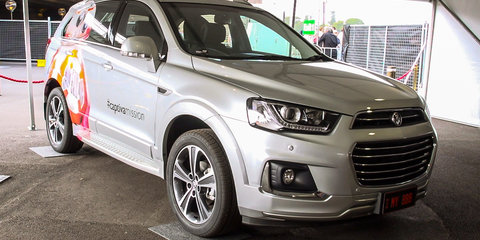 2016 Holden Captiva makes public debut at Star Wars: The Force Awakens fan event