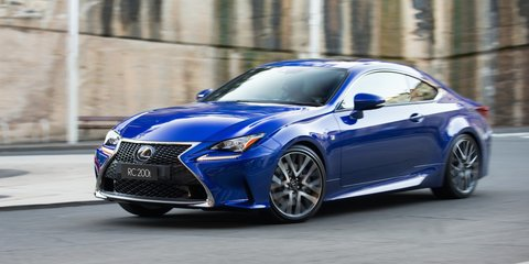 2016 Lexus RC200t Review