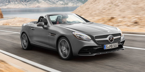 2017 Mercedes-Benz SLC: circa $70,000 starting price for Australia