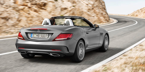 2017 Mercedes-Benz SLC: circa $70,000 starting price for Australia