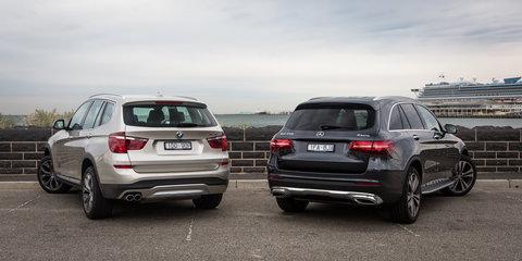 Mercedes-Benz GLC v BMW X3 : Comparison Review - Photos