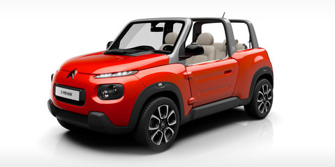 Citroen E-Mehari electric vehicle revealed, European launch confirmed