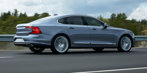 2017 Volvo S90 pricing and specifications: $79,900 entry point for Swedish sedan flagship