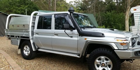 2012 Toyota Landcruiser Gxl (4x4) Review Review