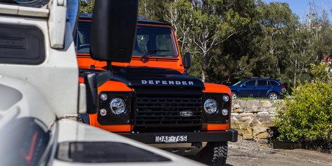 Land Rover Defender Old v New Comparison: 1983 110 County v 2016 110 Adventure