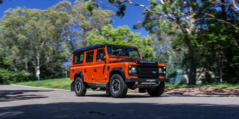Land Rover Defender Old v New Comparison: 1983 110 County v 2016 110 Adventure