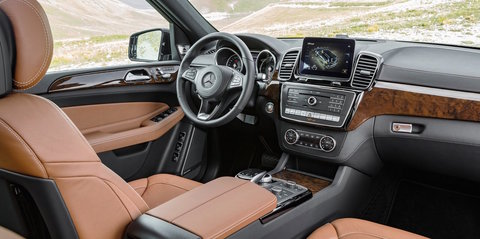 2016 Mercedes-Benz GLS pricing and specifications