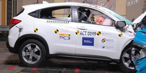 ANCAP gives Honda HR-V, Audi Q7 and Mitsubishi Pajero Sport five stars