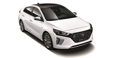 Hyundai Ioniq revealed, Australian debut set for third quarter 2016 - UPDATE