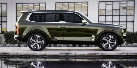 Kia Telluride in development, Aussie arm keen