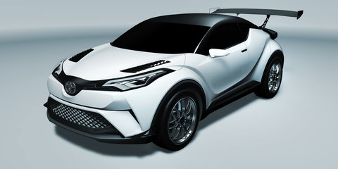 Toyota C-HR to hit 2016 Nurburgring 24 Hours race before market launch