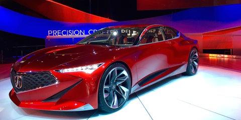 Acura Precision Concept stuns in Detroit