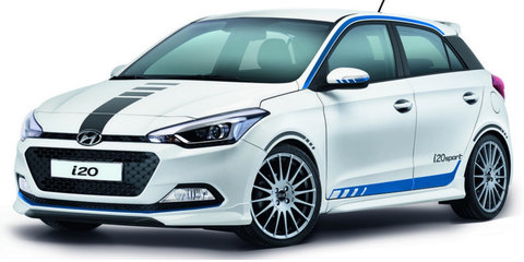 Hyundai i20 Sport: turbo three-cylinder for German-market special