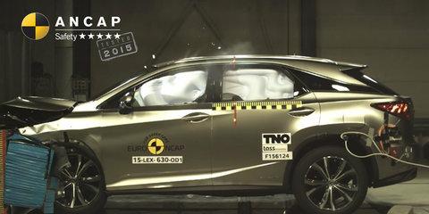 2016 Lexus RX gets ANCAP five-star score