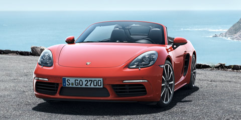Porsche 718 Boxster and Boxster S revealed, new flat-four turbo engines headline