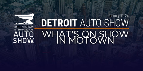 2016 Detroit auto show reveals