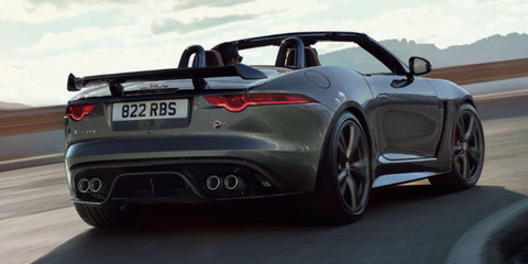 2017 Jaguar F-Type SVR pricing and specifications: $289,590 start for fastest F-Type ever