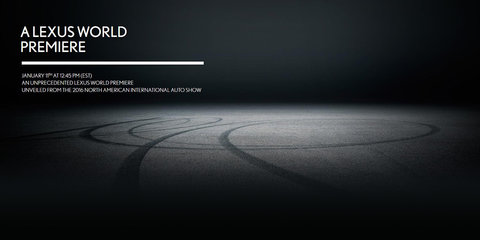 Lexus teases sporty Detroit debut: LC coupe coming? - UPDATE