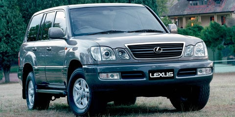 Lexus LX470 recalled in Australia for curtain airbag fix