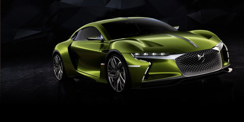 DS E-Tense concept spied on the roads of Paris