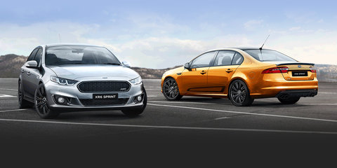 Ford Falcon XR Sprint specifications released: 265mm Pirelli P-Zero tyres and launch control standard
