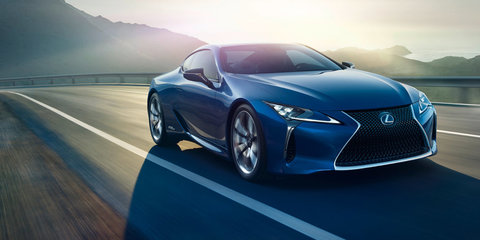 2017 Lexus LC500h hybrid revealed ahead of Geneva debut
