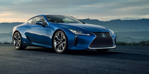 Lexus LC detailed, on sale first half of 2017