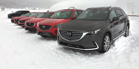 Mazda:: our AWD is better than the rest, and we'll prove it