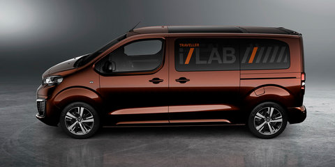 Peugeot Traveller i-Lab concept revealed for Geneva motor show