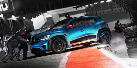Renault Kwid Racer, Climber concepts spice up New Delhi motor show