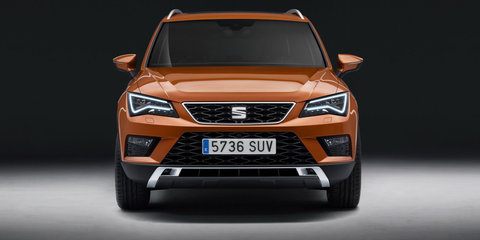 Seat Ateca SUV revealed for Geneva motor show